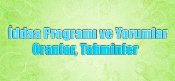 İddaa Programı ve Yorumlar, İddaa Programı ve Oranlar, İddaa Programı ve Tahminler, İddaa Programı ve Maç Sonuçları, İddaa Programı ve İstatistikler, İddaa Programı ve Puan Durumları, İddaa Programı ve Maç Kodları
