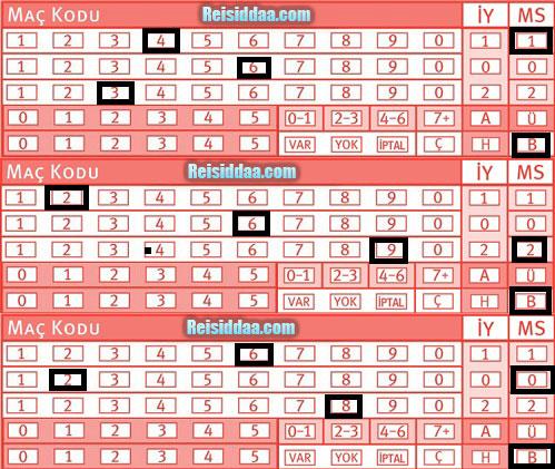 iddaa sistem 1 9 işaretleme
